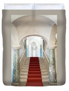Noto, Sicily, Italy - Luxury Entrance Of Nicolaci Palace Duvet Cover