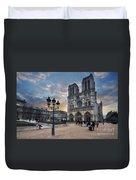 Notre Dame Cathedral Paris 2.0 Duvet Cover