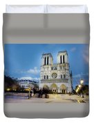 Notre Dame Cathedral Paris 3 Duvet Cover