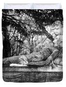 Notre-dame-des-neiges Cemetery Duvet Cover