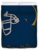 Notre Dame Fighting Irish Helmet Duvet Cover