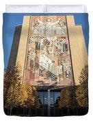 Notre Dame Library 2 Duvet Cover