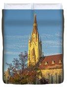 Notre Dame University Basilica Of The Sacred Heart Duvet Cover