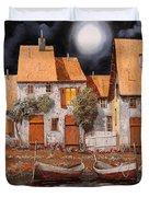 Notte Di Luna Piena Duvet Cover