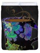 Nouveau Cafe Cool Duvet Cover