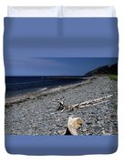 Nova Scotia Pebble Beach Duvet Cover