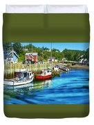Nova Scotia Duvet Cover