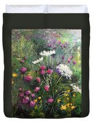 Nova Scotia Wildflowers Duvet Cover