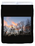 November At Twilight Duvet Cover