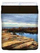 November Colors Duvet Cover
