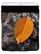 November Leaf Duvet Cover