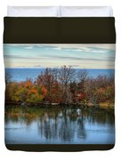 November Reflections Duvet Cover