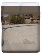 November Skatescape #3 Duvet Cover