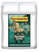 Now In Colorado Time Duvet Cover