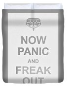 Now Panic 0 Duvet Cover