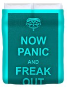 Now Panic 12 Duvet Cover