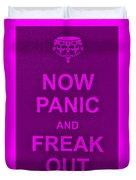 Now Panic 14 Duvet Cover