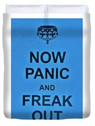 Now Panic 21 Duvet Cover