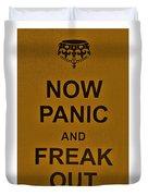 Now Panic 23 Duvet Cover