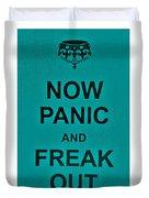 Now Panic 26 Duvet Cover