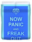 Now Panic 3 Duvet Cover