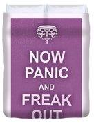 Now Panic 7 Duvet Cover