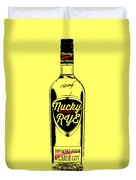 Nucky Thompson Boardwalk Rye Whiskey Tee Duvet Cover