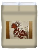 Nude 2 - Tile Duvet Cover