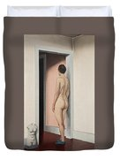 Nude And Torso Duvet Cover