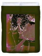 Nude Dancer Duvet Cover