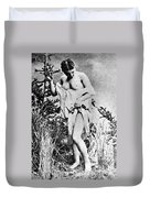 Nude In Wilderness Duvet Cover