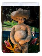 Nude Man Scupture 1 Duvet Cover
