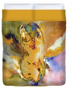 Nude Pose II Duvet Cover