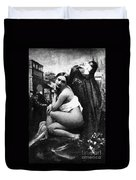Nude Posing, C1843 Duvet Cover