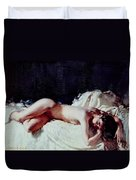 Nude Study Duvet Cover by Sir William Orpen