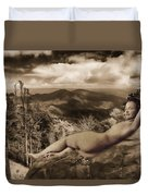 Nude Sunbather Duvet Cover
