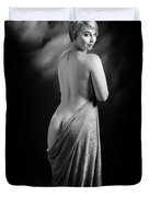 Nude Woman Model 1722  018.1722 Duvet Cover