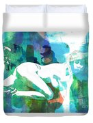 Nude Woman Painting Photographic Print 0031.02 Duvet Cover