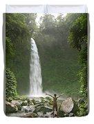 Nungnung Waterfall Duvet Cover