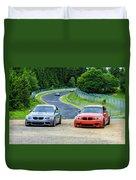 Nurburgring Race Track Duvet Cover