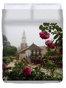 Nursery Garden Roses Duvet Cover
