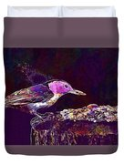 Nuthatch White Breasted Nuthatch  Duvet Cover