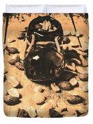 Nuts About Vintage Still Life Art Duvet Cover