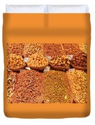 Nuts And Candy Duvet Cover