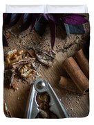 Nuts And Spices Series - Four Of Six Duvet Cover