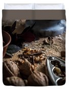 Nuts And Spices Series - One Of Six Duvet Cover