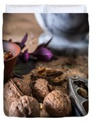 Nuts And Spices Series - Six Of Six Duvet Cover
