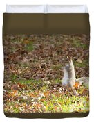 Nuts For Fall Duvet Cover
