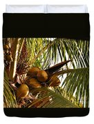 Nuts On Tree  Duvet Cover