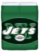 Ny Jets Fantasy Duvet Cover